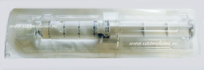 Увеличение головки члена гиалуроновой кислотой